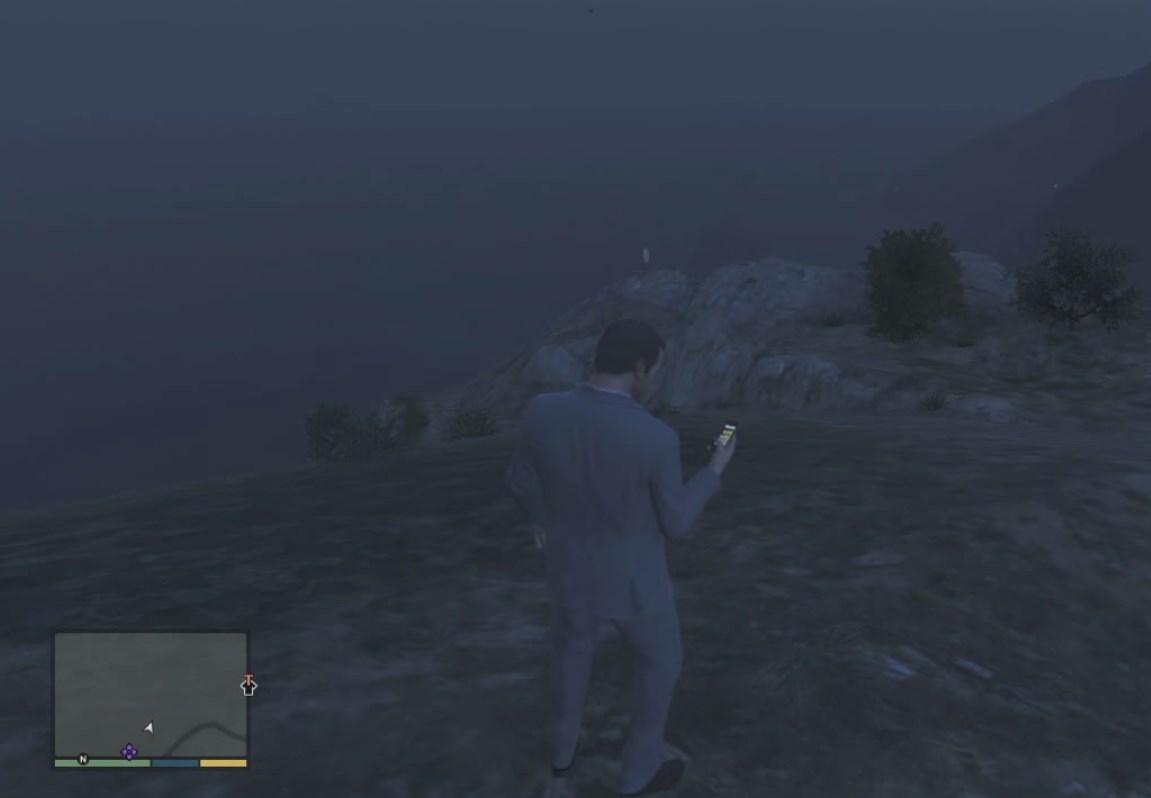 Призрак на горе Гордо (Gordo)