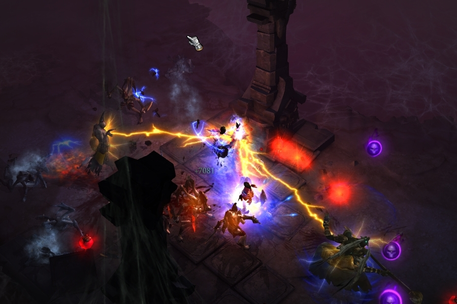 Венец молний в Diablo 3